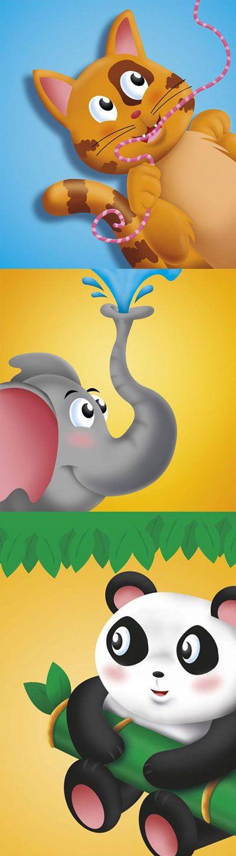 Design e ilustrações das capas para a coleção Brincar e Colorir da editora todolivro.      http://www.todolivro.com.br/brincar-colorir-verde.html
