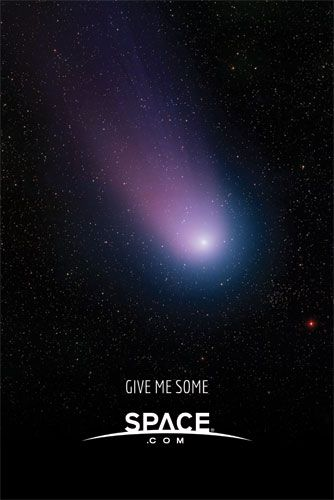 """Give Me Some Space 'Comet' - Regular Print Poster (24""""x36"""")"""