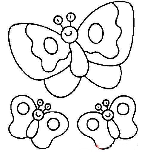 Cicek Kaliplari Yaprak Kaliplari Ugur Bocegi Kaliplari Kelebekler Boyama Sayfalari Boyama Kitaplari