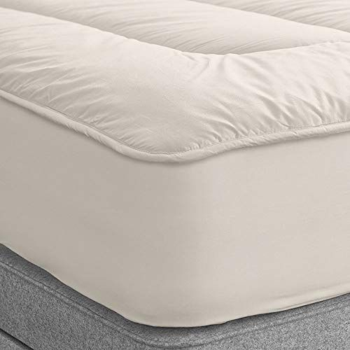 Twin Xl Natural Organic Deluxe Washable British Wool Mattress
