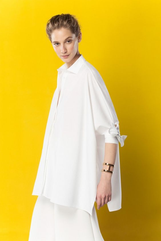 Pinterest the world s catalog of ideas for Carolina herrera white shirt collection