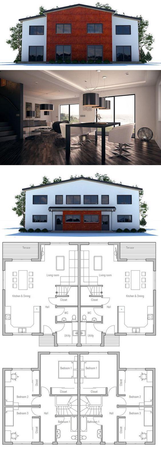 plan de maison duplex - Plan De Maison En Duplex