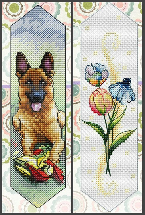 Beauty And The Beast Bookmark For Cross Stitch Disney Cross