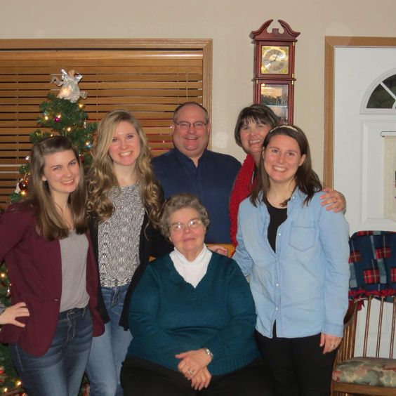 Marlene with Ed, Jen, and girls (Emilee, Katie and Carlee--Dec. 2015