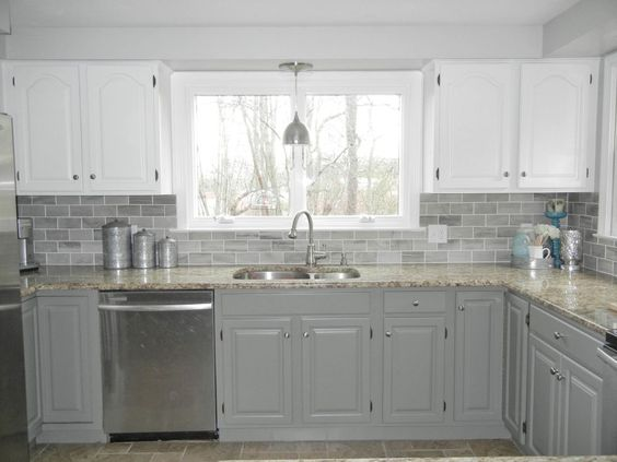 Home remodeling colors and white kitchen cabinets on for Best benjamin moore white for kitchen cabinets