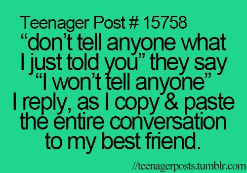 Teenager Posts Of The Week: The True Definition Of ... |Teenager Post About Friendship