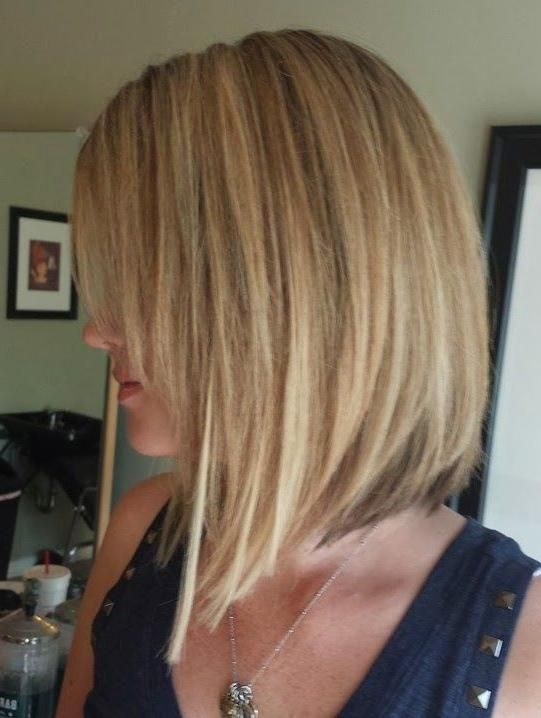 Medium Length Inverted Bob Hairstyles For Fine Hair Are Fantastic Options So That They Can Create Your Inverted Bob Hairstyles Thick Hair Styles Bob Hairstyles