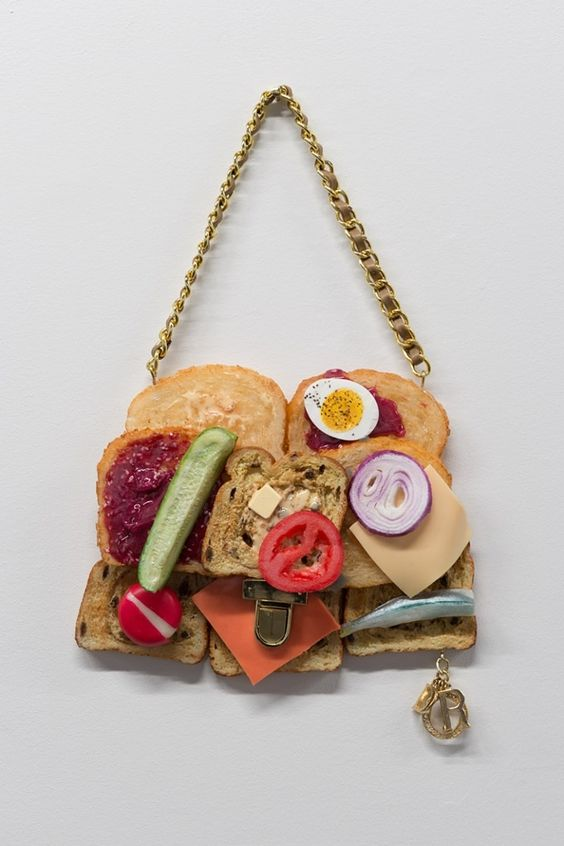 The ludicrous foodie handbags that fooled the fashion world – in pictures: