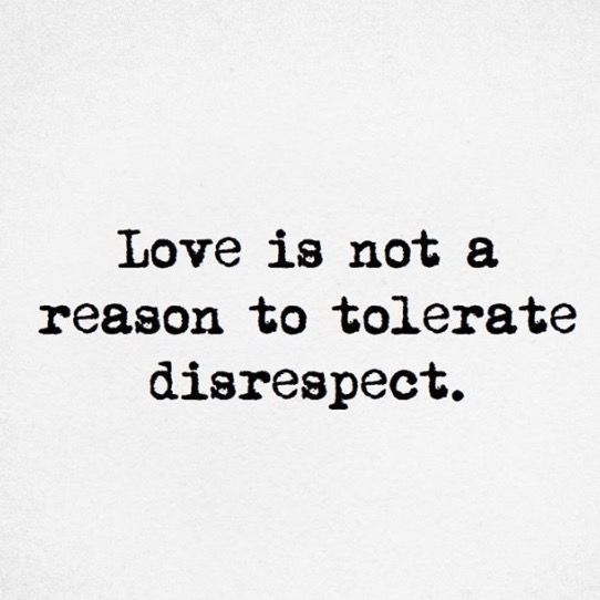 Lies = disrespect
