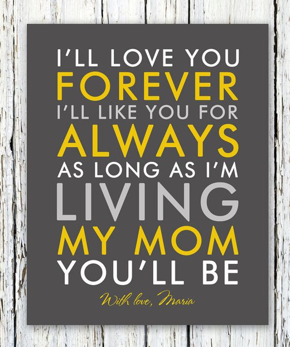 I Ll Love You Forever Quote: Like You, I Like You And Bride Gifts On Pinterest