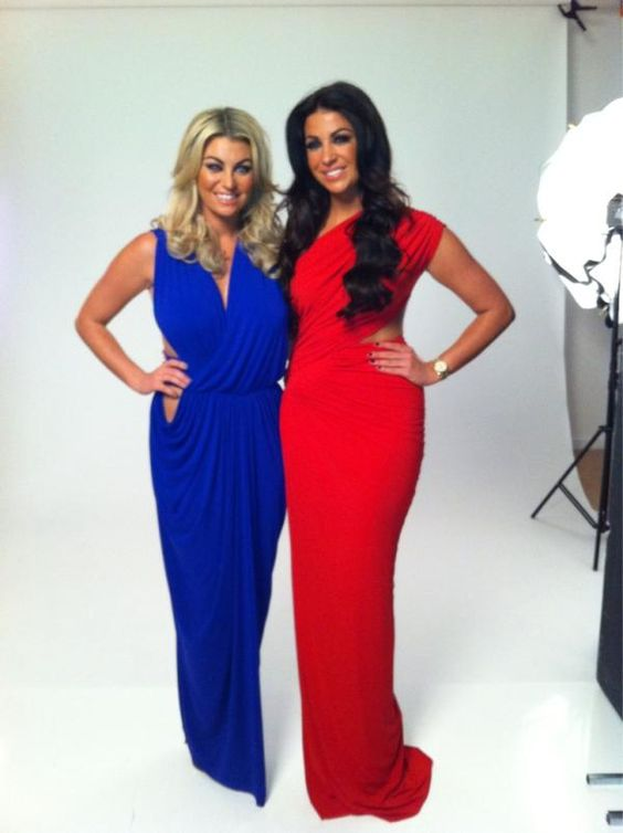 TOWIE's Cara Kilbey an Billi Mucklow loving Gorgeous Couture for their photoshoot!