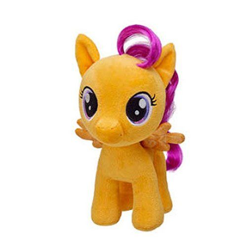 My Little Pony Build A Bear Plush Toy Scootaloo Tesla S Toys My Little Pony Scootaloo Build A Bear Little Pony Today i'm going to show you how to style my little pony's scootaloo's hair into her signature look. pinterest