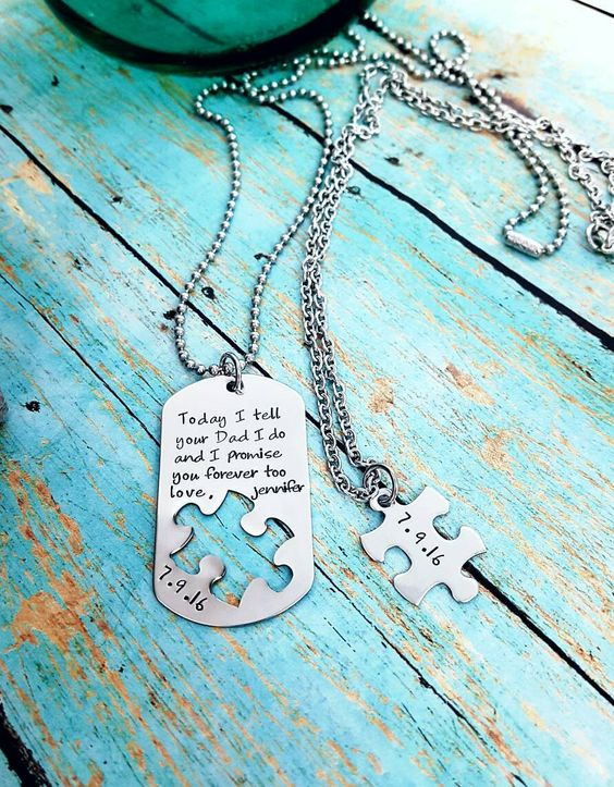 Wedding Gift Ideas For Step Daughter : Wedding gift for step children, Step son gift, Step daughter gift, New ...