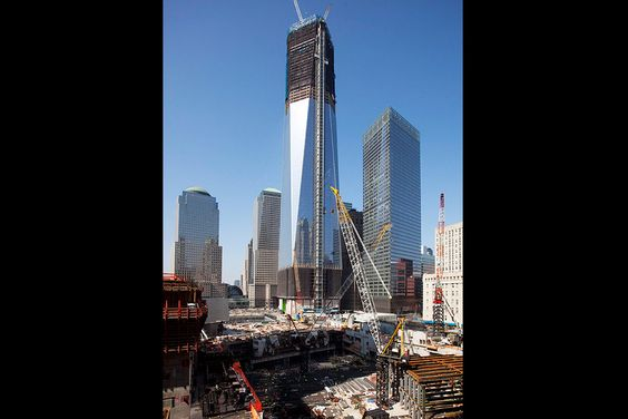 World Trade Center  1271 ft. Back to NYC's tallest building.