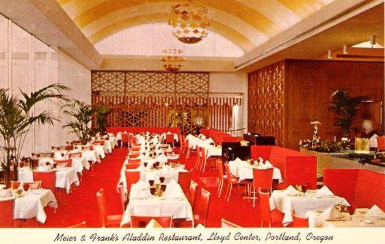 Aladdin restaurant in meier and frank memories for Aladdin cuisine stoke