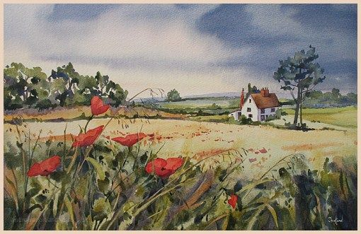 Watercolour Artists Gallery - Andrew Shortland