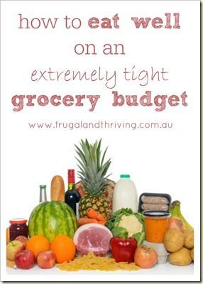 You can eat healthy food on a very tight  budget. Here are some tips on how to do it.