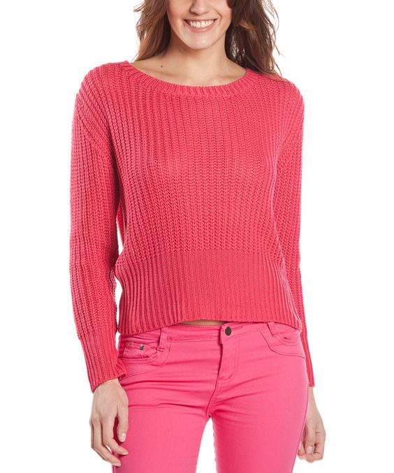 Look what I found on #zulily! Fuchsia Sungreen Top by Missing Johnny #zulilyfinds