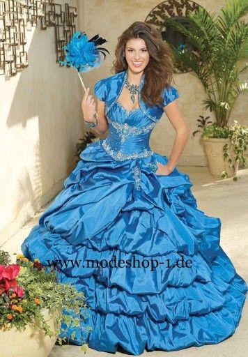 Sissi Kleid Ballkleid 2015 Brautkleid Luanda mit Raffungen