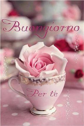 Liebe grüsse und einen schönen tag italienisch