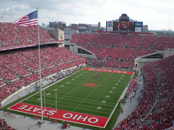 "Ohio Stadium Ohio State Buckeyes Canvas Wrap (20""x16""x1.5"")"