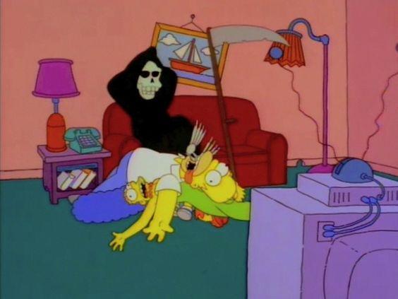 Résultats de recherche d'images pour «Death The Simpsons»
