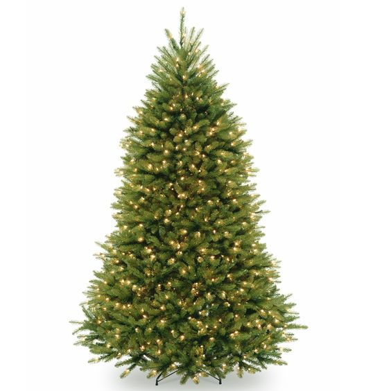 7.5 ft. PowerConnect™ Dunhill Fir Tree with Clear Lights