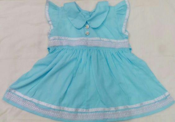Blue dress for babies