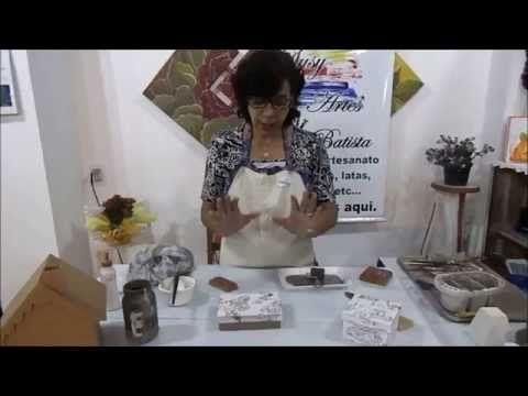 Susy artes - Passo a passo arte provençal e Craquelê