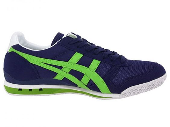 onitsuka tiger ultimate 81 blue/birch trainers