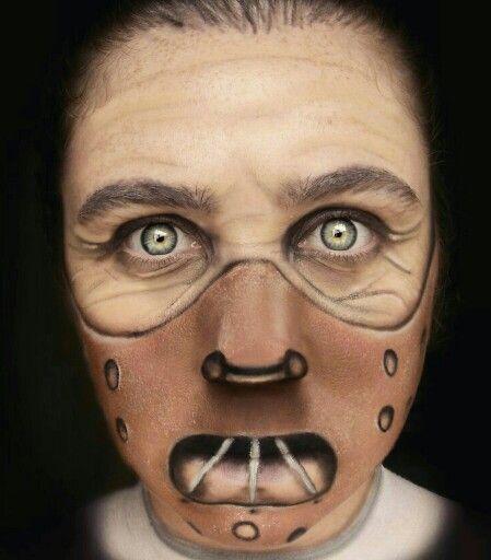 Hannibal lecter makeup SFX photoshoot inspiration Pinterest