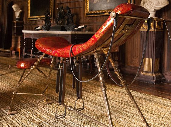 "Thomas Jeffersons ""sex chair"". Really."