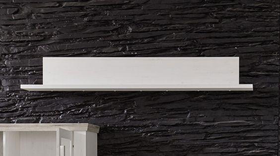 étagère murale moderne couleur pin blanc AVOCADO