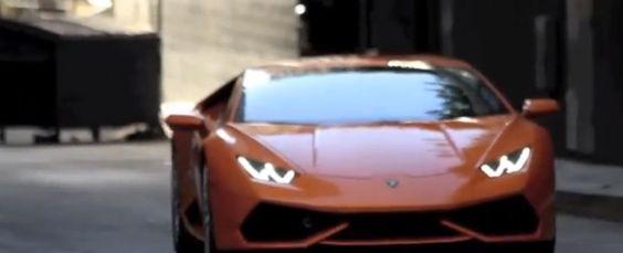 Lamborghini Huracan in Orange [VIDEO]