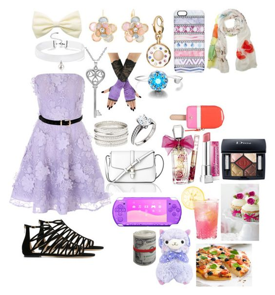 """Beautiful Lavender(Hinata Lancers)"" by sasukeuchiha2498 ❤ liked on Polyvore featuring Jane Norman, Jimmy Choo, Mixit, Charlotte Russe, Amanda Rose Collection, Juicy Couture, L.K.Bennett, Casetify, Kate Spade and Christian Dior"