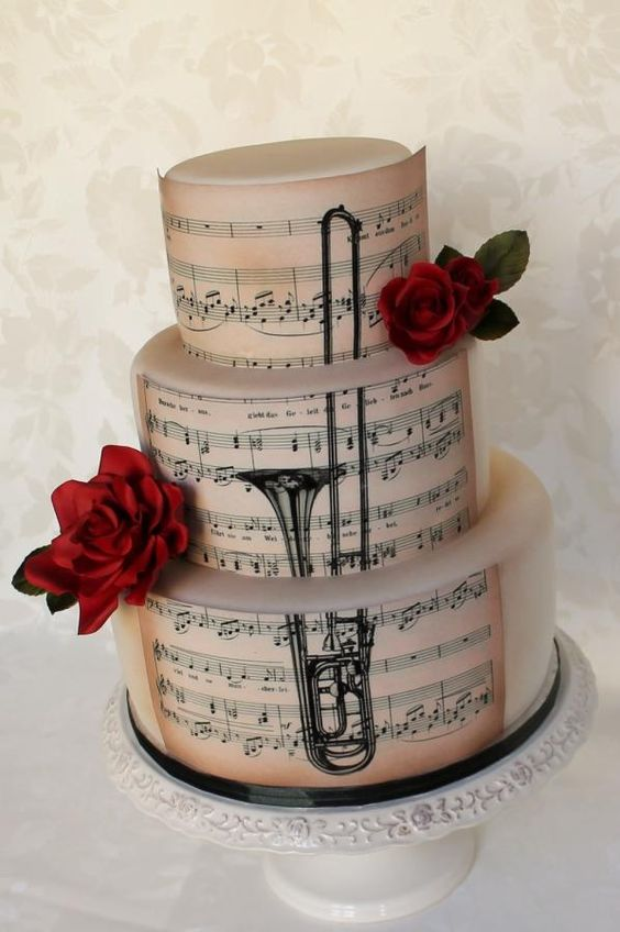 Cake Decoration Music : Trombone, Music and Cake decorating supplies on Pinterest