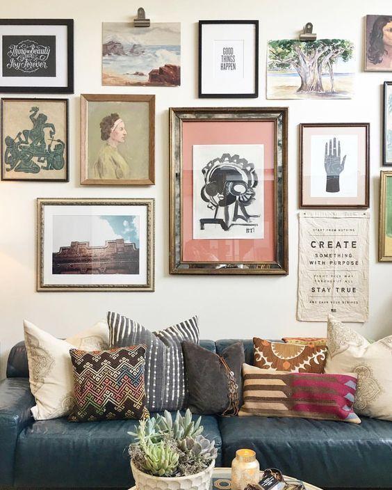 Modern And Vintage Wall Art Home Decor Living Room Ideas Home Decor Decor Wall Decor Living Room