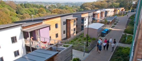 Glasney #student village at Falmouth University
