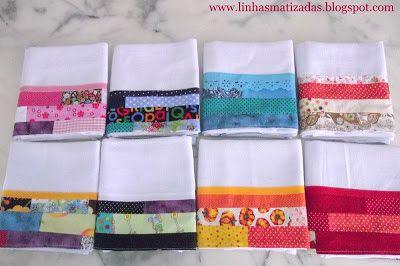 Linhas Matizadas: Como Aproveitar Tirinhas de Tecidos