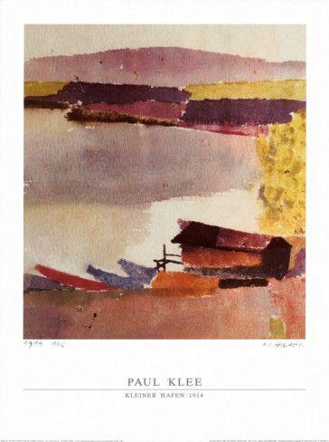 Kleiner Hafen, 1914 Art Print