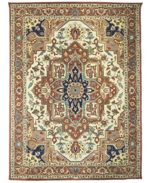 Handmade Tufted Heriz Rug Z3104 Design 2504 Size 9 0 X 12 0 Carpet Rugs Flooring Office Home Decoration Bedroom Heriz Rugs Rug Decor Rug Design