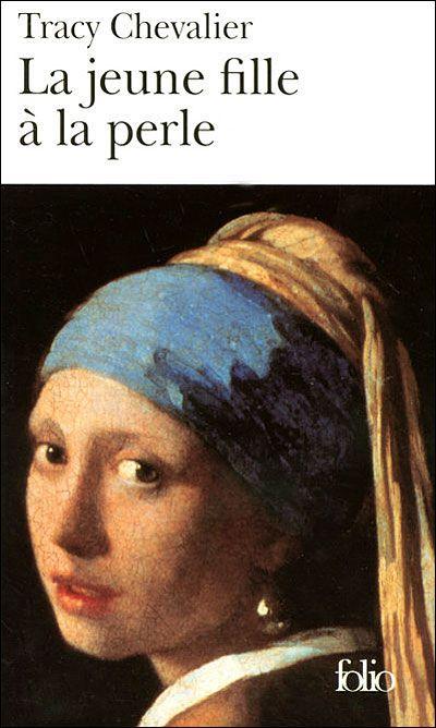 La jeune fille à la perle... Déçue par ce livre d'une lenteur exaspérante... Quelques renseignements sur Vermeer, mais c'est tout!
