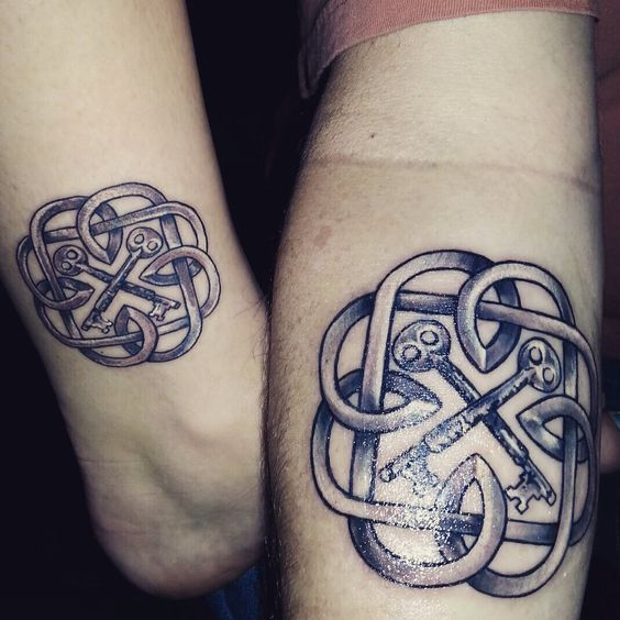 Daughters father daughter and father daughter tattoos on for Daughter father tattoos