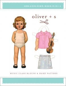 purl soho   products   item   music class blouse & skirt (oliver + s)
