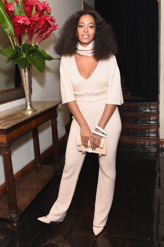 Pin for Later: It Was Excruciatingly Hard to Pick This Week's Best Dressed List Solange Knowles In Ryan Roche at the CFDA/Vogue Fashion Fund Show and Tea.