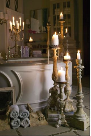 Picture 7 - the candles in this room, set it off!