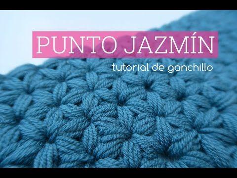 Punto jazmin a ganchillo   Crochet Jasmine stitch