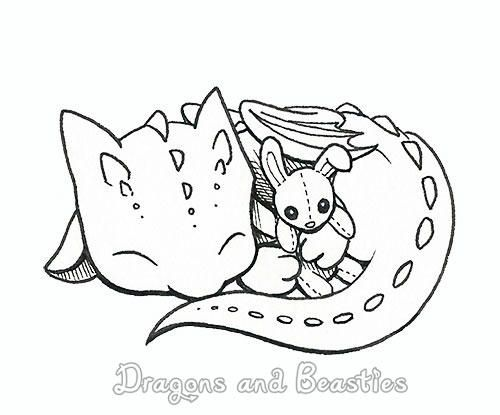 Inktober Baby By Dragonsandbeasties Dragon Coloring Page Cute Dragon Drawing Baby Dragons Drawing