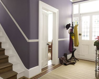 Tendance couleurs de peinture pour l 39 automne photos for Couleur peinture entree escalier