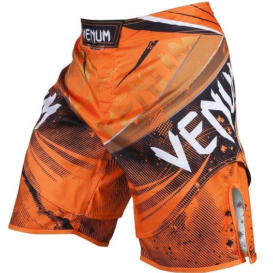 Venum Galactic Fight Shorts Neo Orange Bjj Mma Ufc Fight Shorts Mma Fight Shorts Mma Shorts